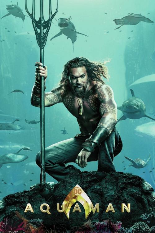 Ταπετσαρία τοιχογραφία Aquaman