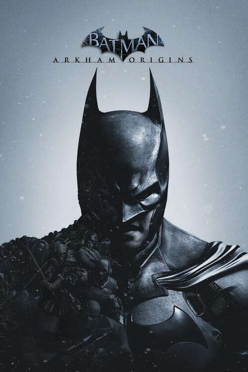Ταπετσαρία τοιχογραφία Batman - Arkham Origins