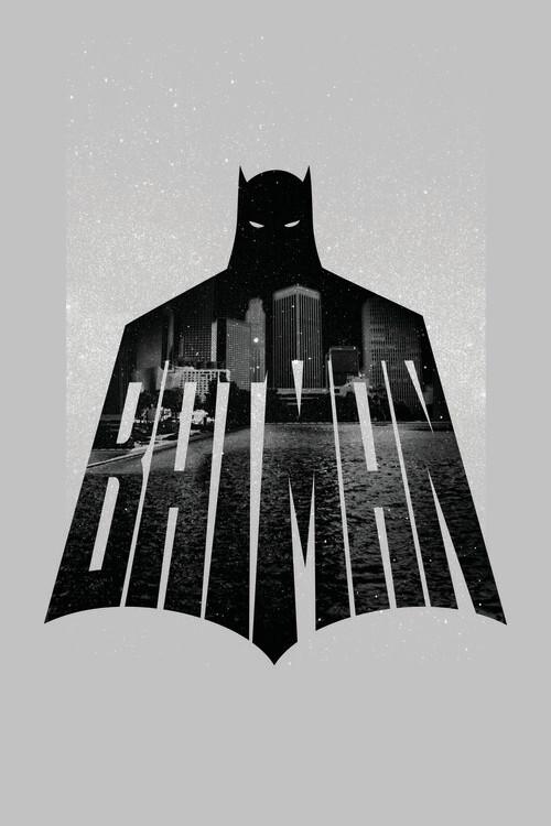 Ταπετσαρία τοιχογραφία Batman - Beauty of Flight
