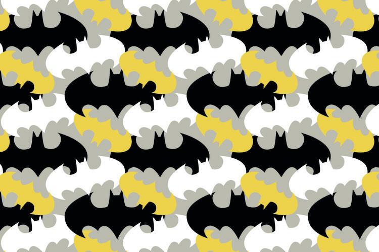 Ταπετσαρία τοιχογραφία Batman - Logo