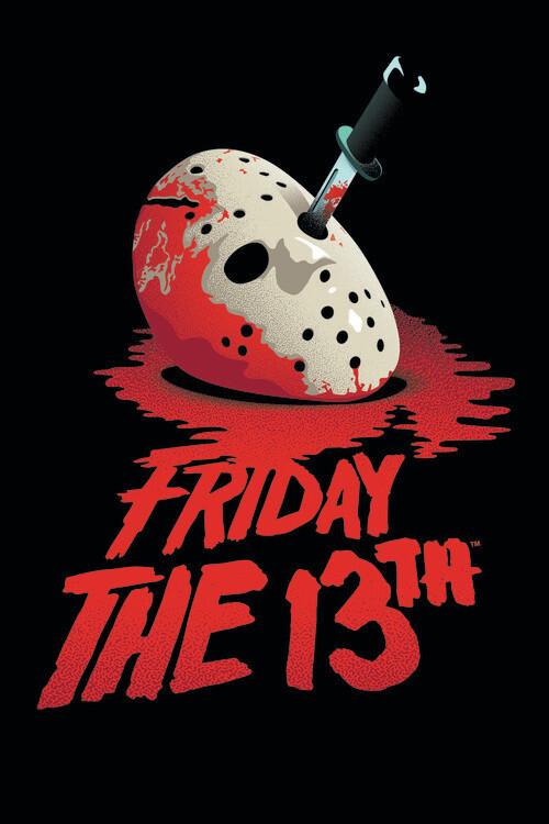 Ταπετσαρία τοιχογραφία Friday the 13th - Blockbuster