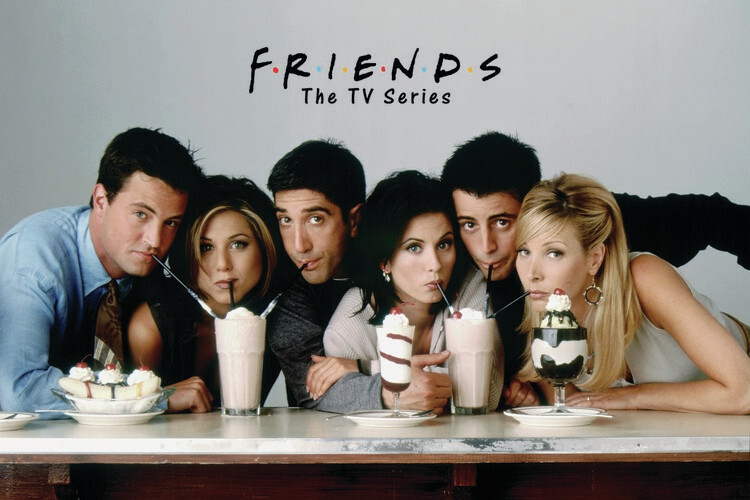 Ταπετσαρία τοιχογραφία Friends - Season 2