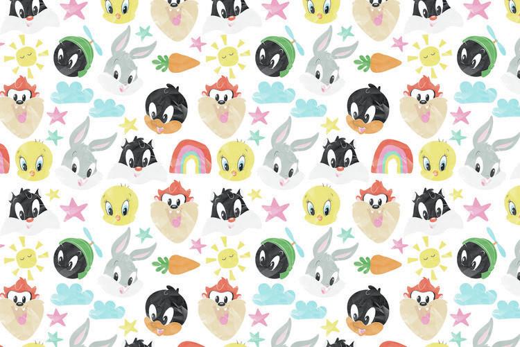 Ταπετσαρία τοιχογραφία Looney Tunes - Little crew