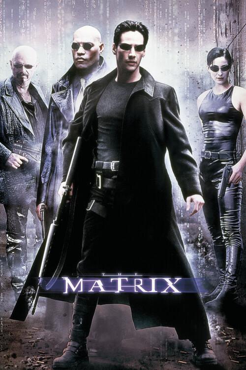 Ταπετσαρία τοιχογραφία Matrix - Χάκερ