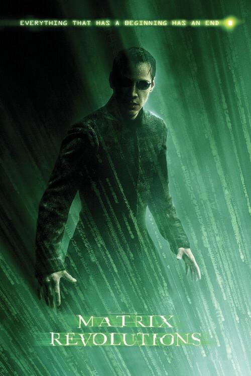 Ταπετσαρία τοιχογραφία Matrix Revolutions - Neo