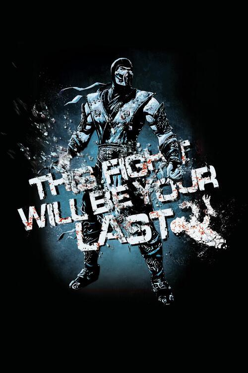 Ταπετσαρία τοιχογραφία Mortal Kombat - Fight