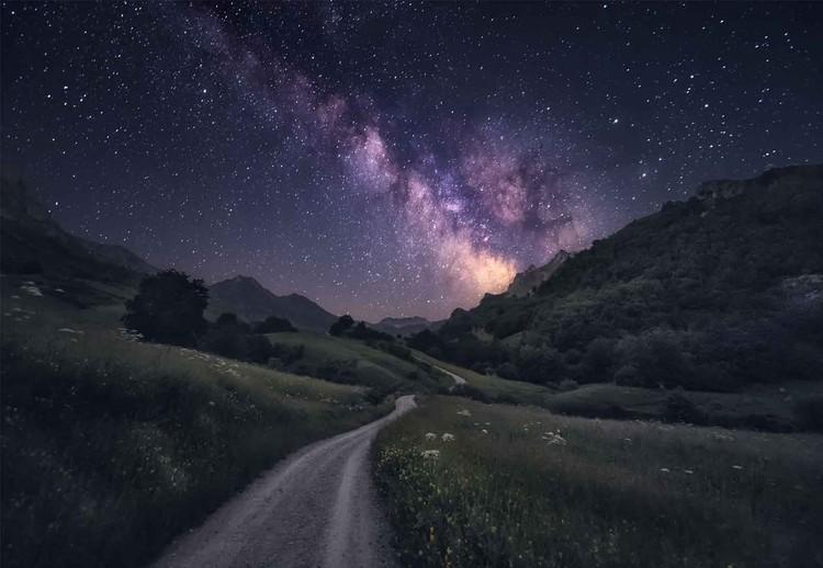 Ταπετσαρία τοιχογραφία Path To The Stars