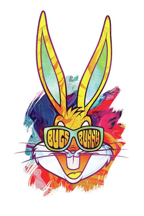 Ταπετσαρία τοιχογραφία Reggae Bugs Bunny
