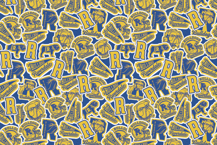 Ταπετσαρία τοιχογραφία Riverdale - Bulldogs