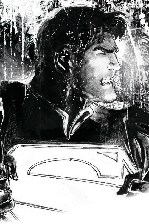 Ταπετσαρία τοιχογραφία Superman - Secret Identity