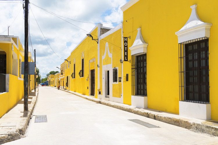 Ταπετσαρία τοιχογραφία The Yellow City - Izamal