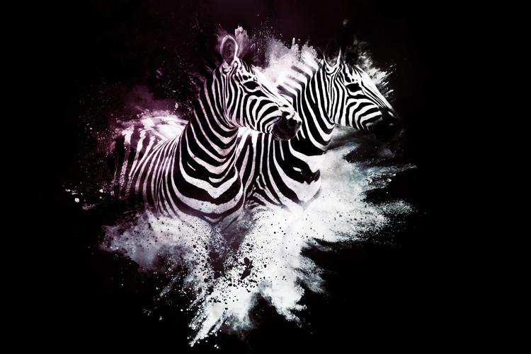 Ταπετσαρία τοιχογραφία The Zebras