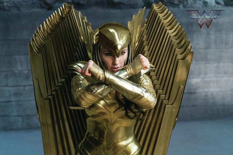 Ταπετσαρία τοιχογραφία Wonder Woman 84 - Golden