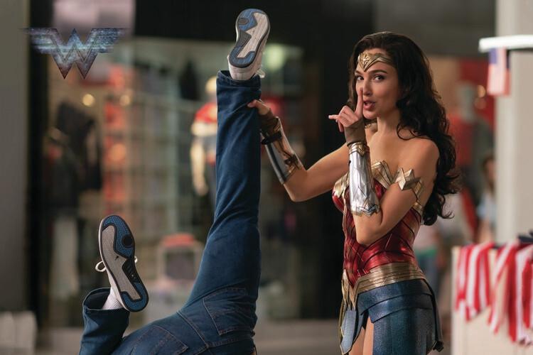 Ταπετσαρία τοιχογραφία Wonder Woman - Shh