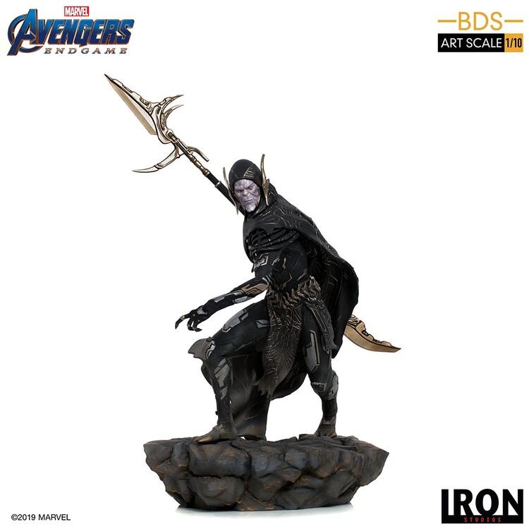 Статуетка Avengers: Endgame - Black Order Corvus Glaive