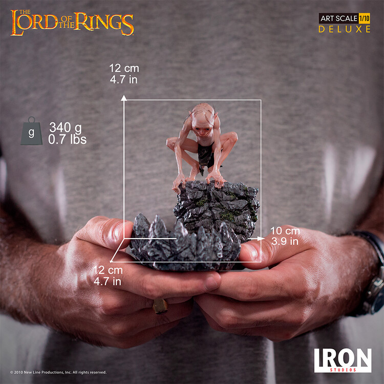 Статуетка Lord of The Rings - Gollum (Deluxe)