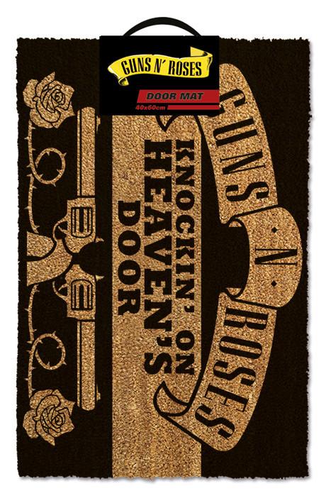 Дверний килимок  Guns N' Roses - Knockin' On Heaven's Door