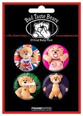 Значка комплект 4 броя BAD TASTE BEARS - Risque