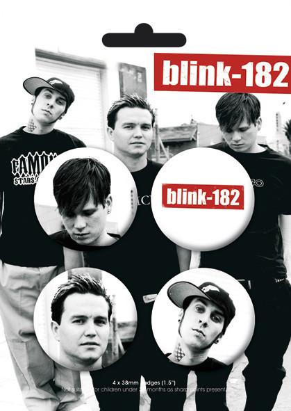 Значка комплект 4 броя BLINK 182 - Band