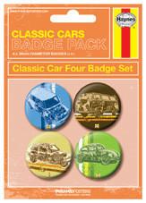 Значка комплект 4 броя HAYNES - Classic cars