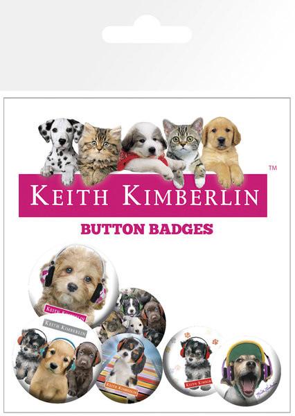 Значка комплект 4 броя KEITH KIMBERLIN