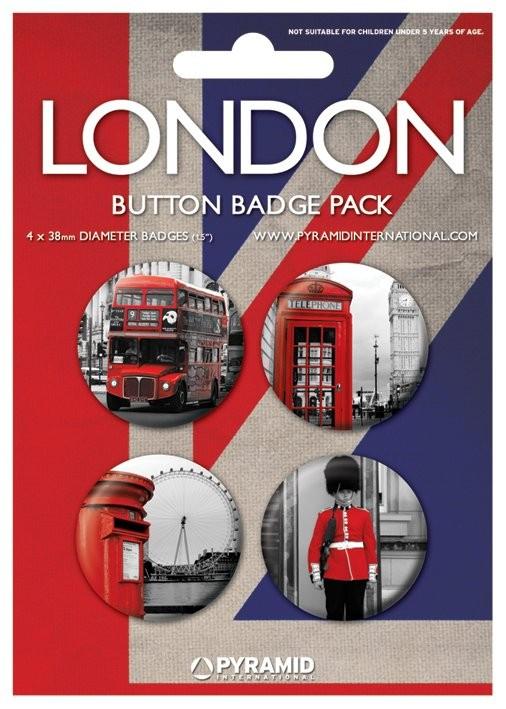 Значка комплект 4 броя LONDON - photos