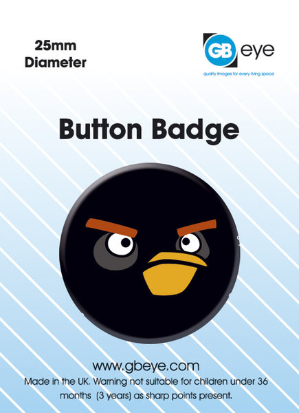 Angry Birds - Black Bird S.O.S Значки за обувки
