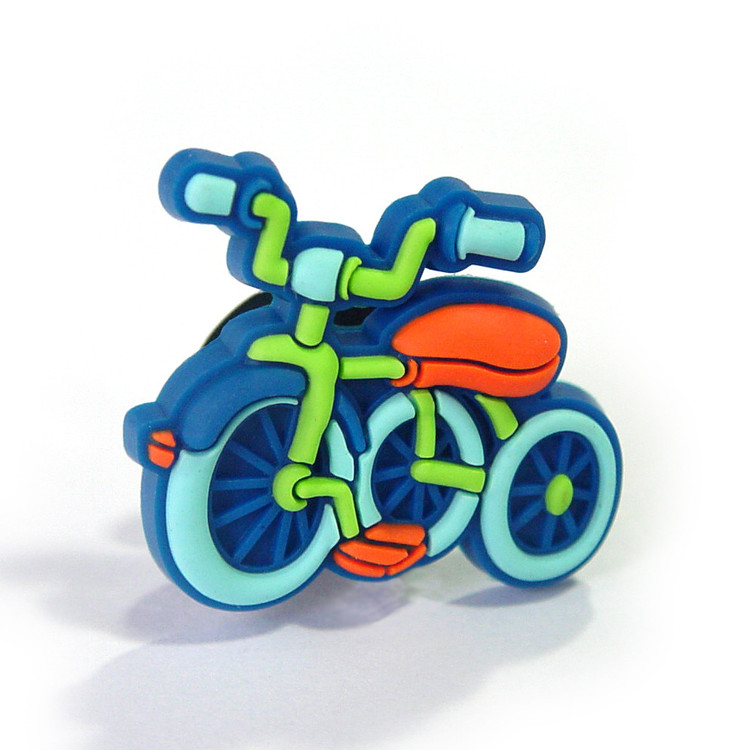 CHILDREN BICYCLE - blue Значки за обувки