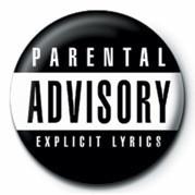 Parental Advisory Значки за обувки