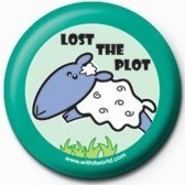 WITH IT (LOST THE PLOT) Значок