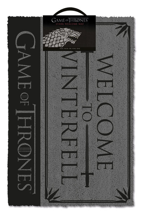 Game Of Thrones - Welcome to Winterfell Изтривалка за крака