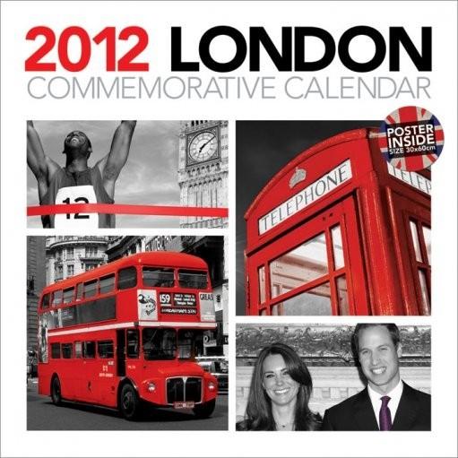 Calendar 2012 - LONDON Календари 2017