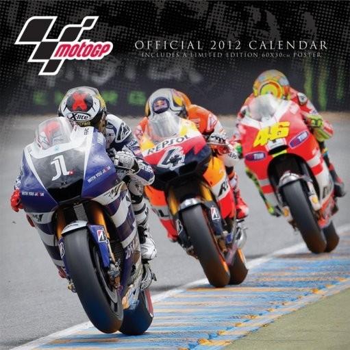 Calendar 2012 - MOTO GP Календари 2017