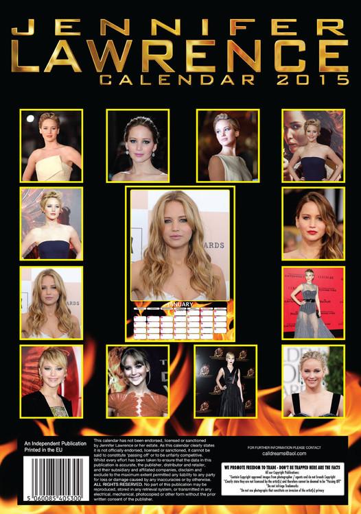 Jennifer Lawrence Календари 2019