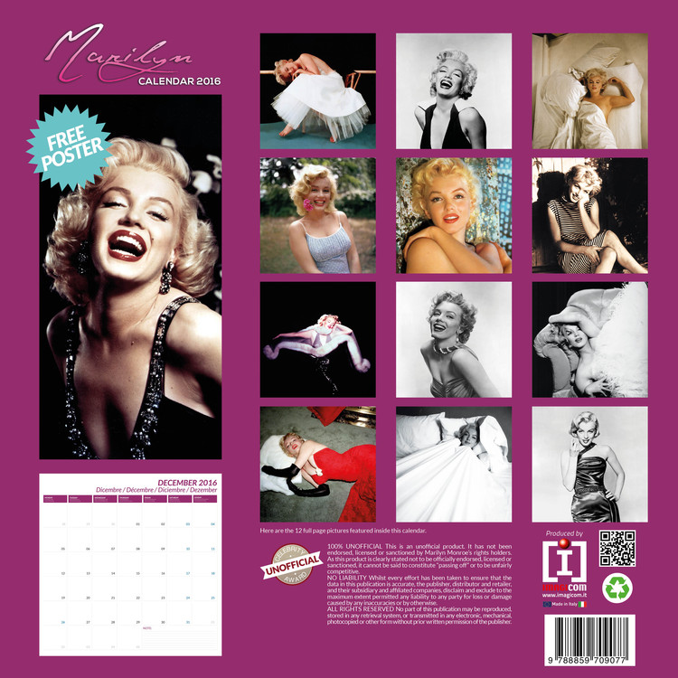 Marilyn Monroe Календари 2019