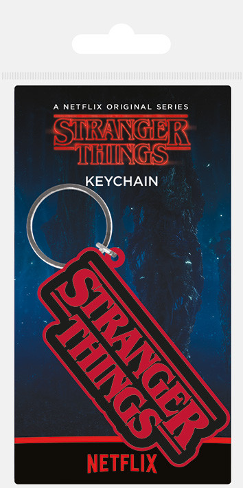 Stranger Things - Logo Ключодържатели - гумени