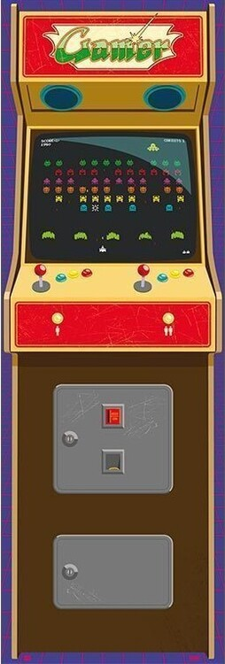 Плакат Arcade Gamer