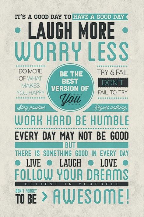 Плакат Be awesome