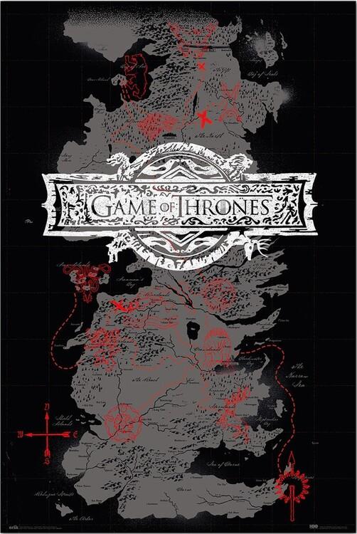 Плакат Game Of Thrones