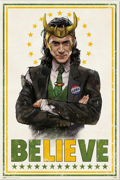 Плакат Marvel - Loki