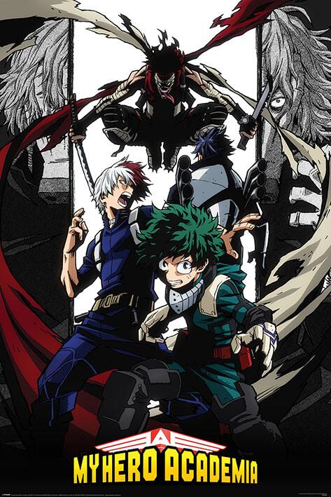 Плакат My Hero Academia - Hero Killer Stain