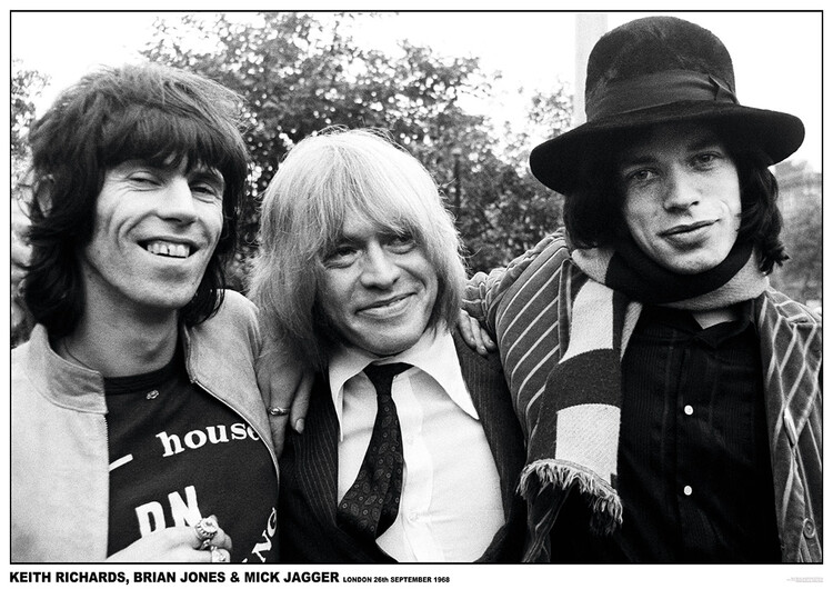 Плакат Rolling Stones - London 1968