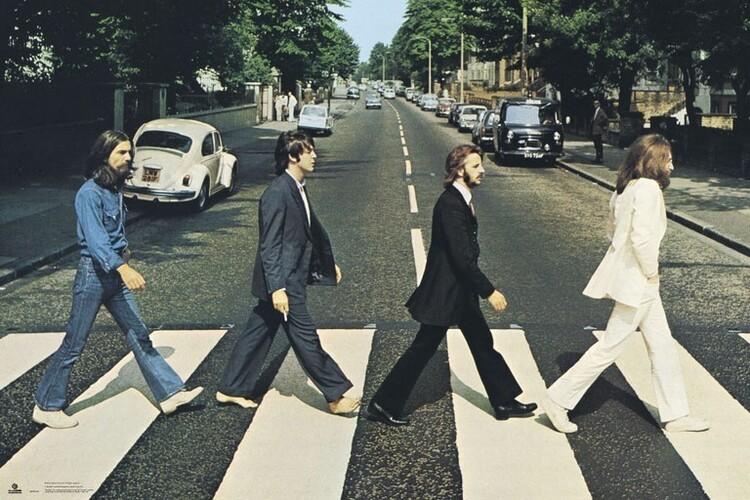 Плакат The Beatles - Abbey Road