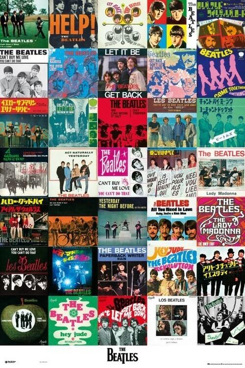 Плакат The Beatles - Covers