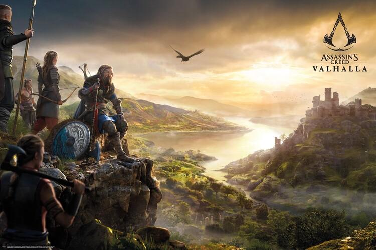 Assassin's Creed: Valhalla - Vista Плакат
