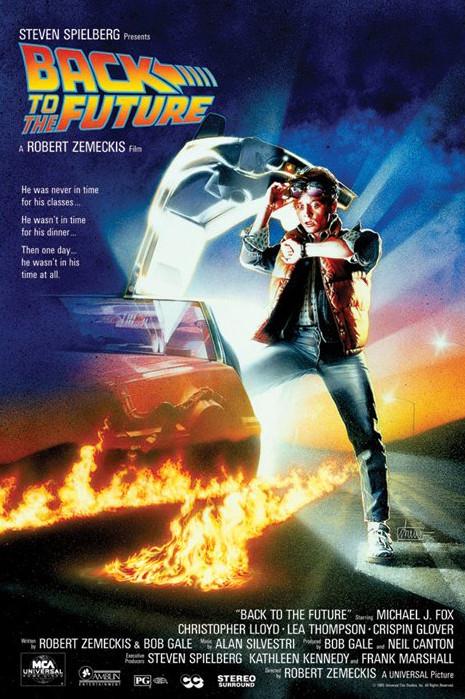 BACK TO THE FUTURE Плакат