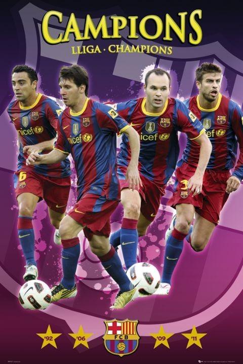 Барселона для плаката