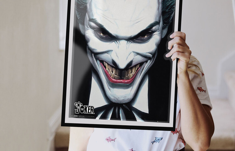 DC Comics - Joker Ross Плакат