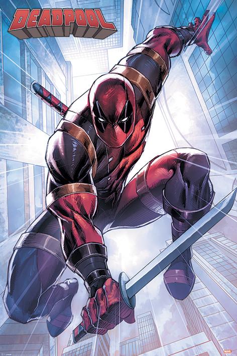 Deadpool - Action Pose Плакат