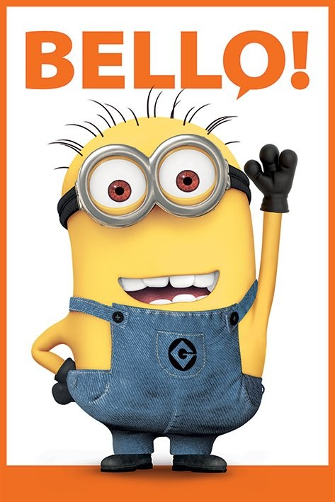 Despicable Me 2 - Bello Плакат